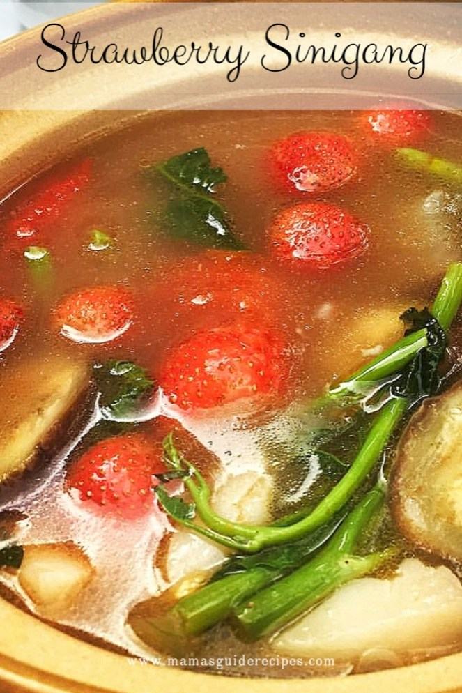 Strawberry Sinigang Recipe