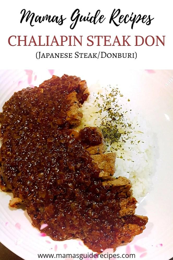 Chaliapin Steak DON - Shokugeki no Soma