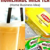 Homemade Milktea Recipe