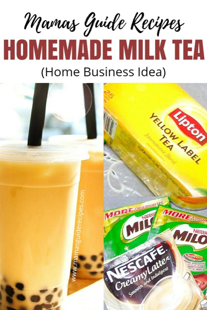 Homemade Milk Tea Recipe