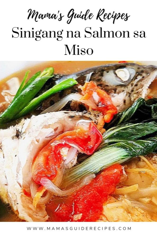 Sinigang na Salmon sa Miso
