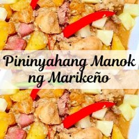 Pininyahang Manok ng Marikeño
