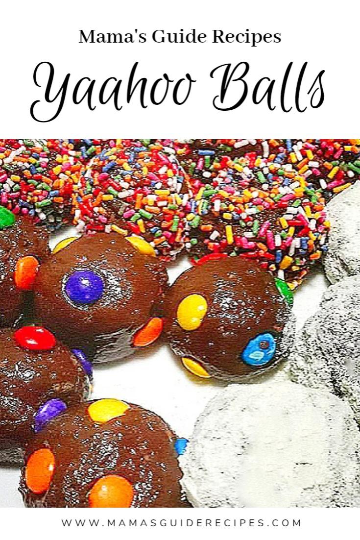Yaahoo Balls Recipe