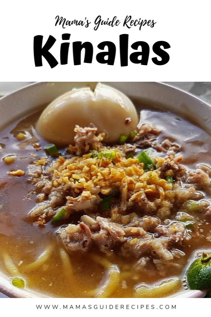 Kinalas Recipe