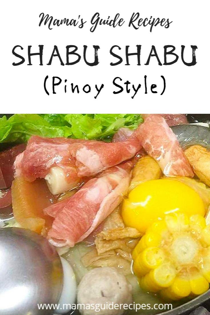 Mamas guide recipes make life more delicious with mamas guide shabu shabu pinoy style forumfinder Images