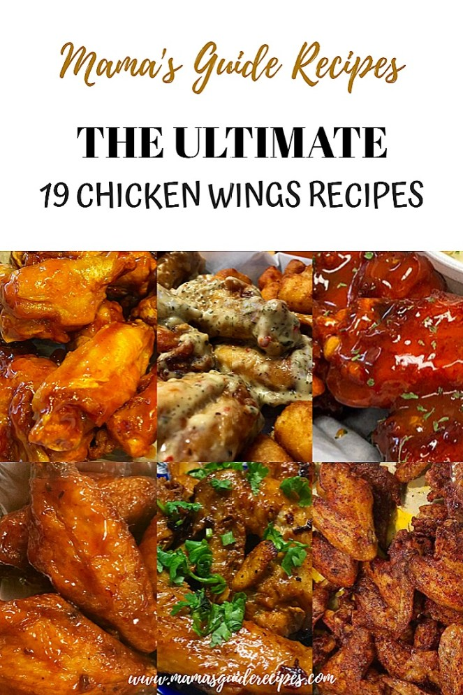 THE ULTIMATE 19 CHICKEN WINGS RECIPES