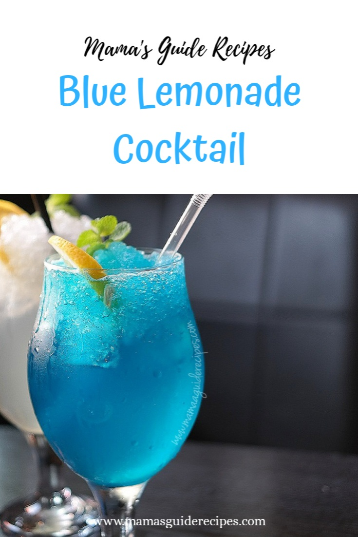 BLUE LEMONADE COCKTAIL