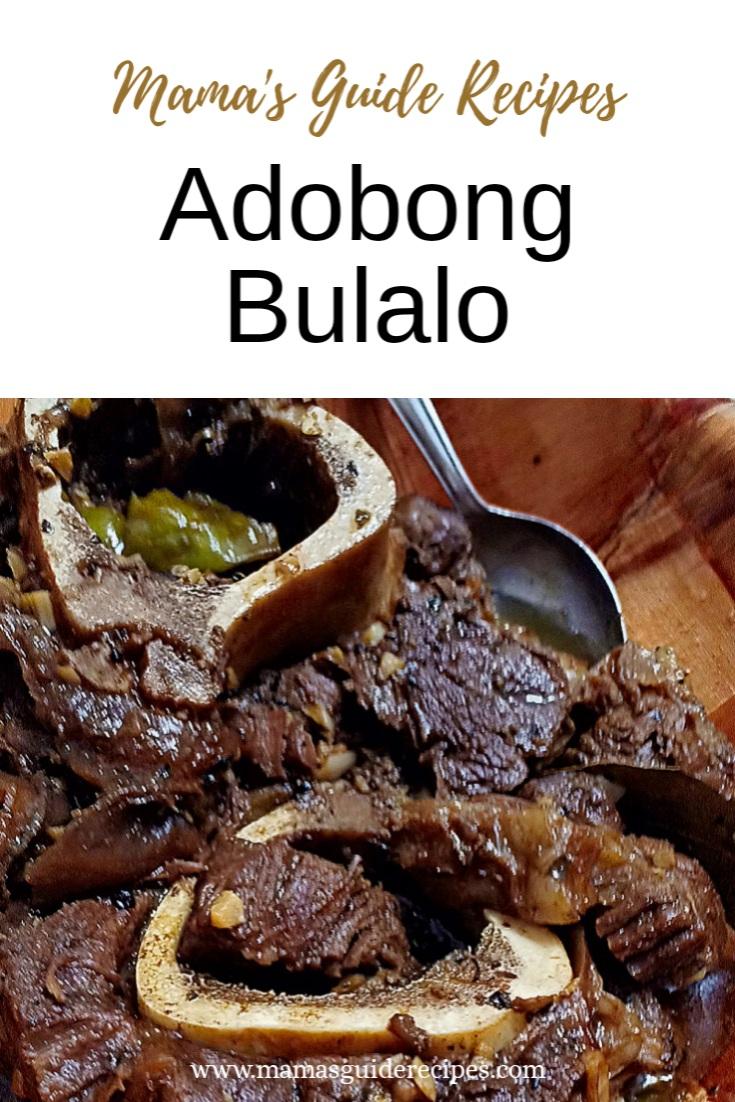 Adobong Bulalo