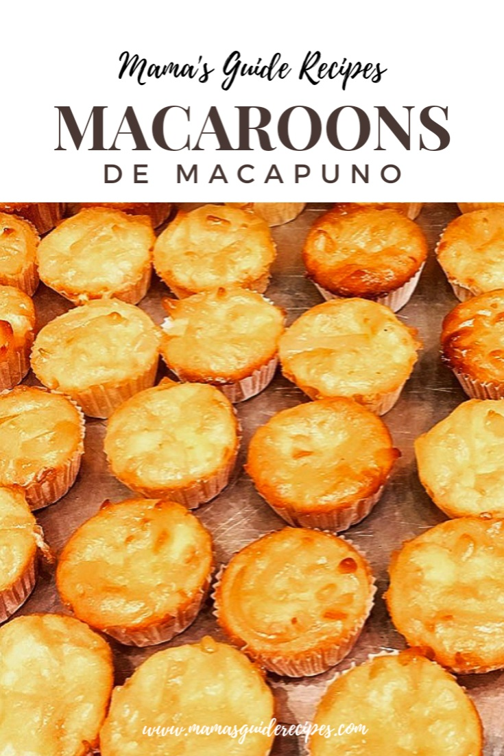 Macaroons De Macapuno Mama S Guide Recipes