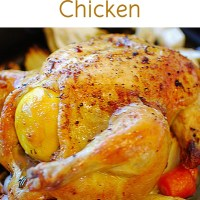 ROAST BUTTERED CHICKEN