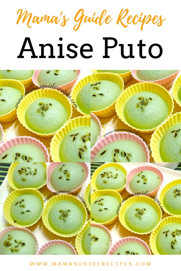 ANISE PUTO RECIPE