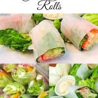 Crab Salad Rolls