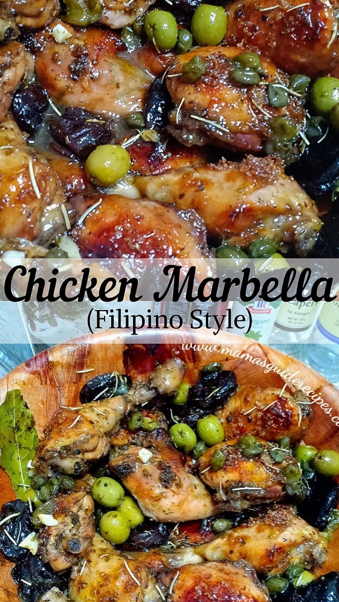 CHICKEN MARBELLA (FILIPINO STYLE)