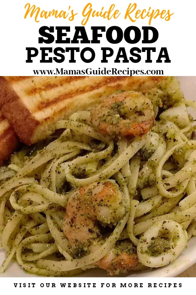 Seafood Pesto Pasta Recipe