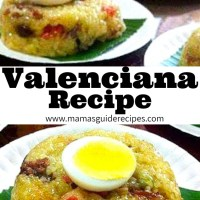 VALENCIANA RECIPE