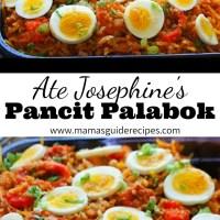 ATE JOSEPHINE'S PANCIT PALABOK RECIPE