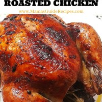 Margarine Roasted Chicken