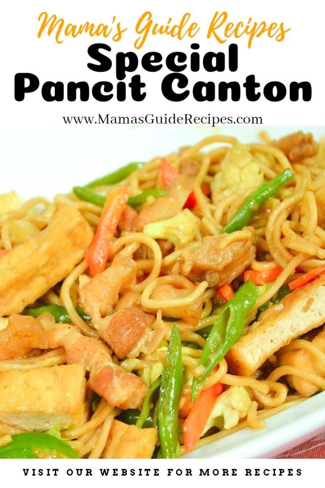 Special Pancit Canton Recipe
