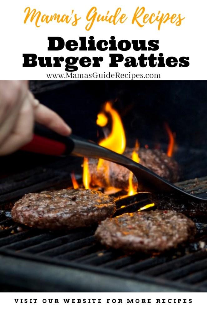 Delicious Burger Patties