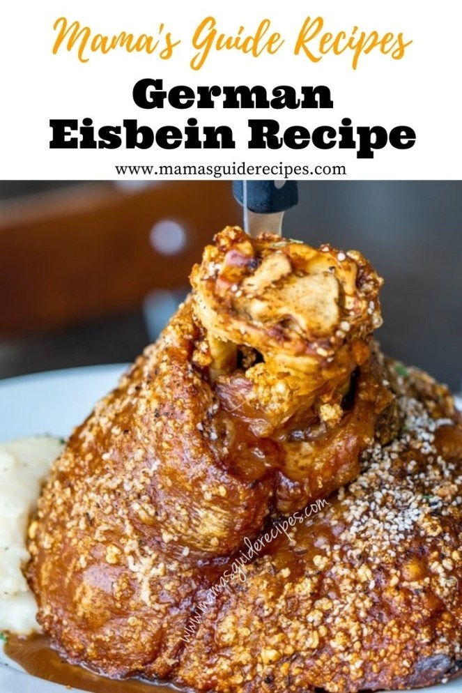 German Eisbein Recipe
