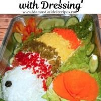 Steamed Lapu-lapu with Dressing