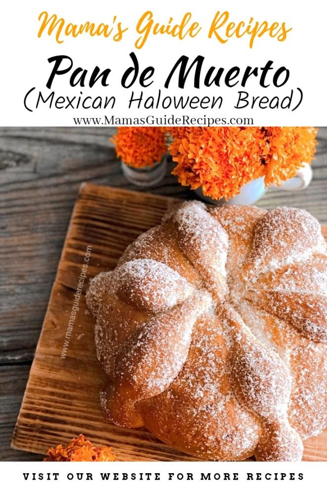 Pan De Muerto (Mexican Halloween Bread)