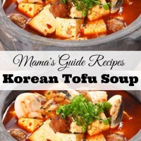 Korean Tofu Soup Recipe (Soondubu Jjigae)