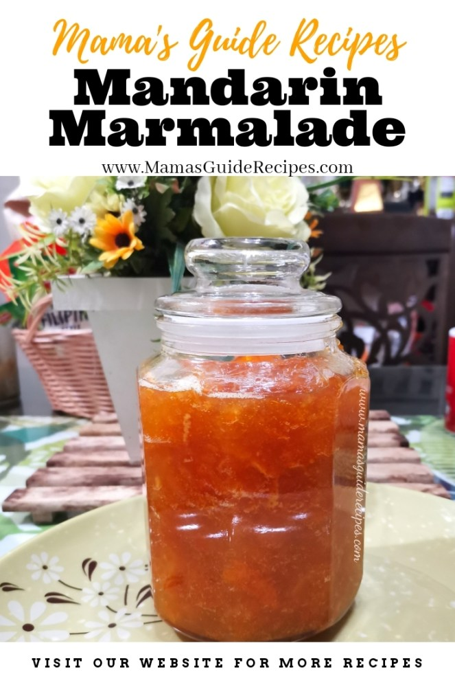 Mandarin Marmalade Recipe
