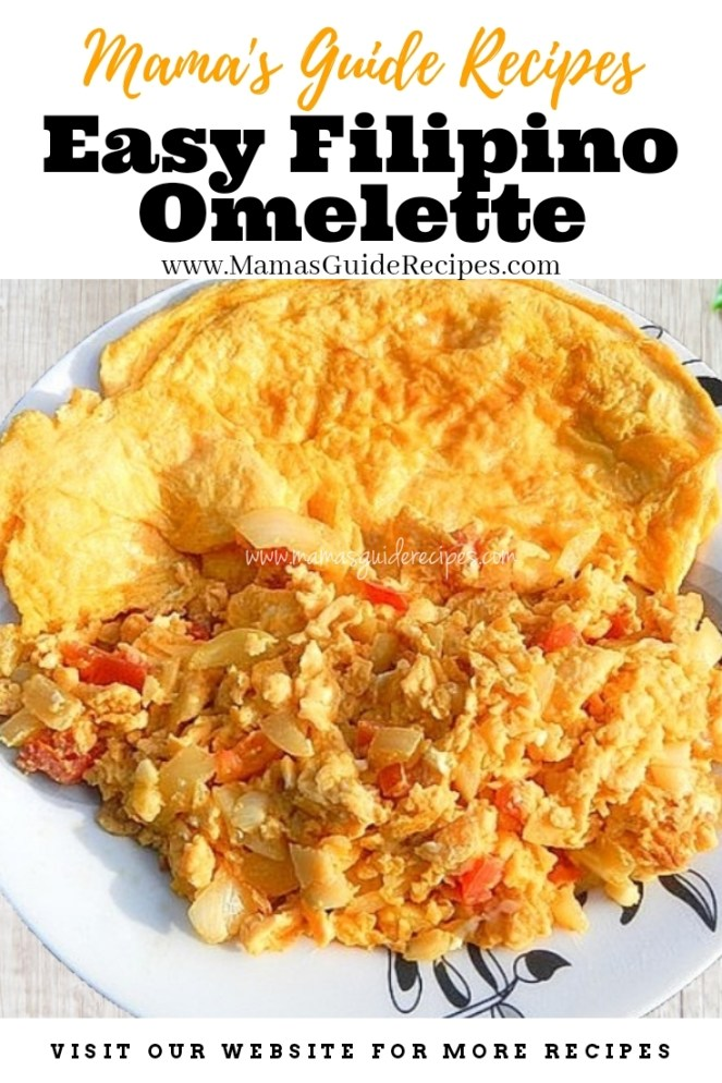 Easy Filipino Omelette (Tomatoes and Onions)