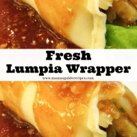Fresh Lumpia Wrapper Recipe
