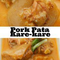 Pork Pata Kare-kare