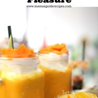 Mango Smoothie Pleasure