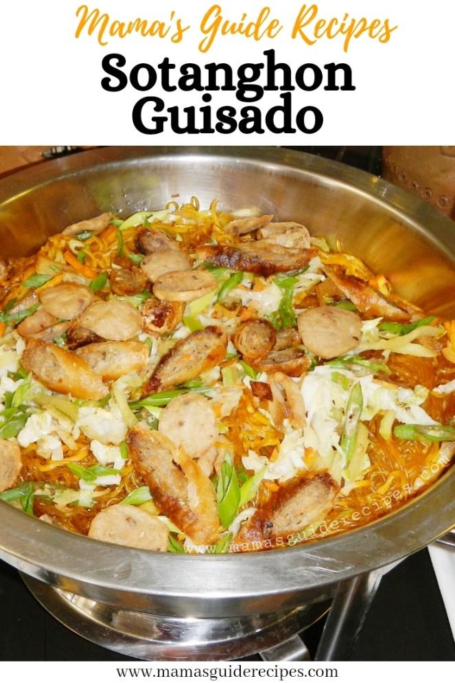 Sotanghon Guisado