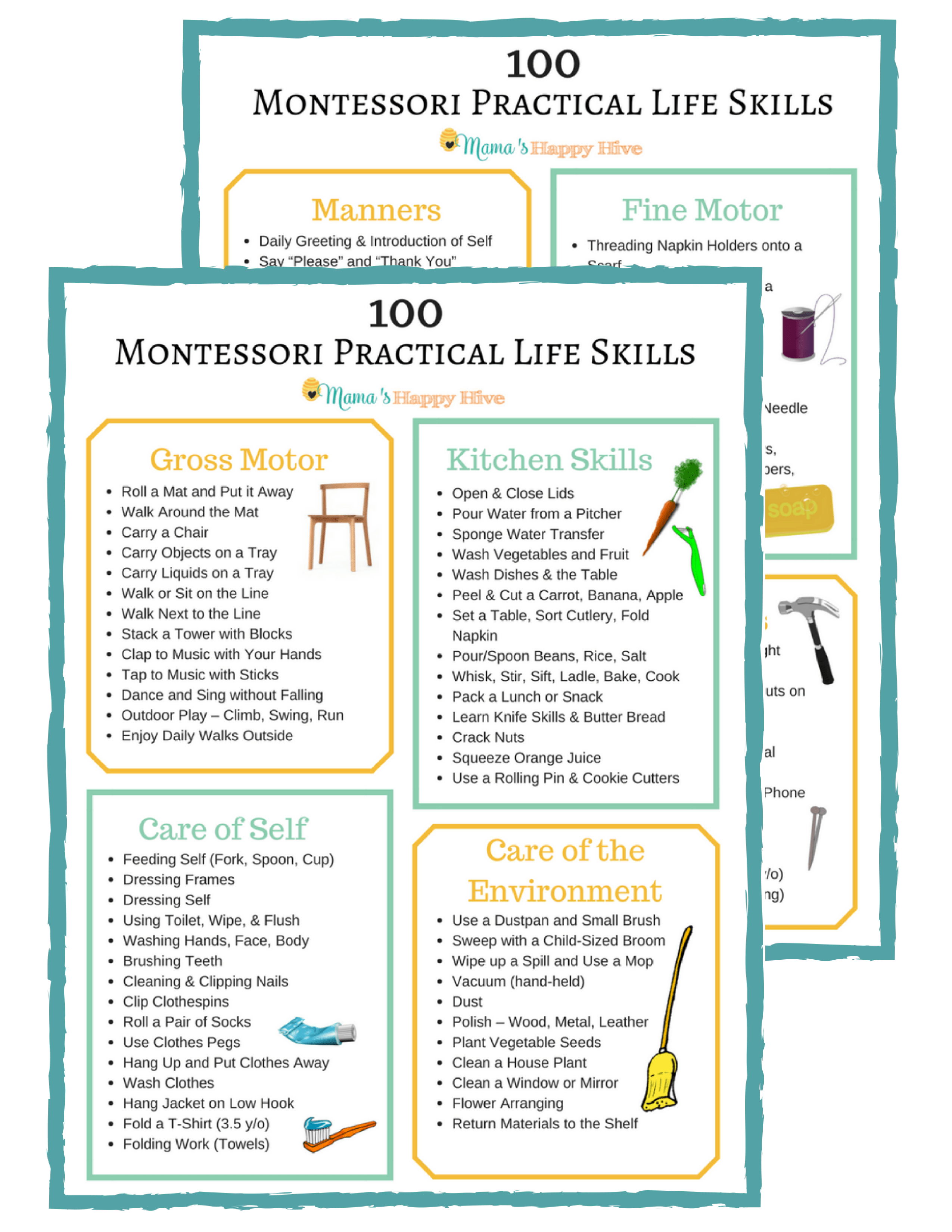 Our Montessori Inspired Homeschool Plan For Preschool 2 5