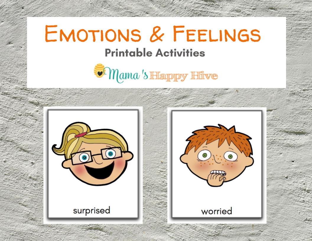 Printable Emotions And Expressions Faces Flashcards How Do You