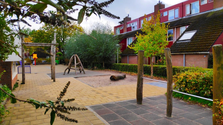 groene schoolpleinen Prinses Margriet Zoetermeer
