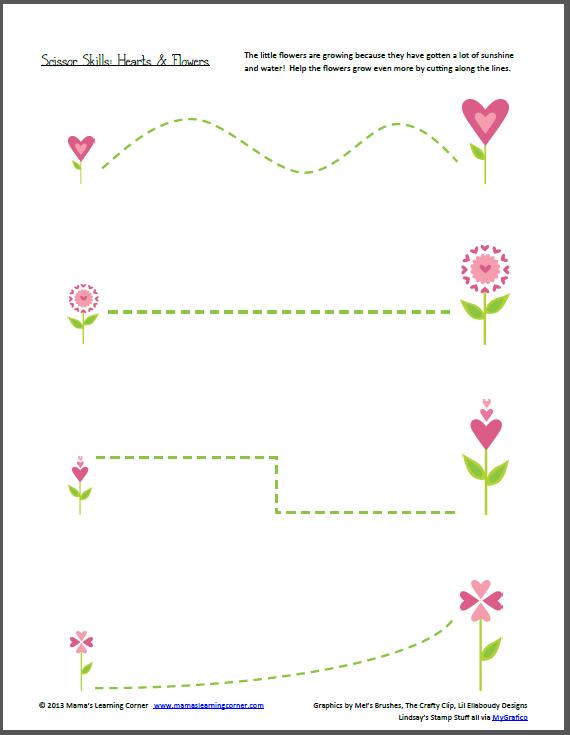 Scissor Skills: Valentine's Day