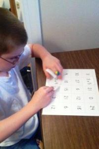 Printable Multiplication Match Game