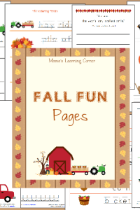 Fall Fun Pages Sale – Only $1!
