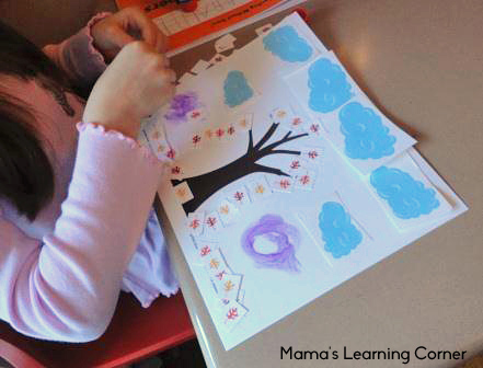 Fall Leaves Cut & Paste Printable Activity