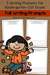 Set of 3 Fall Writing Prompts