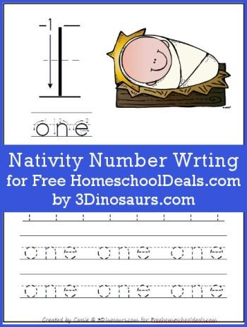 Nativity Number Writing