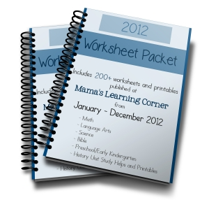 2012 Worksheet Packet