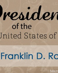 Franklin D. Roosevelt: Facts and Worksheets