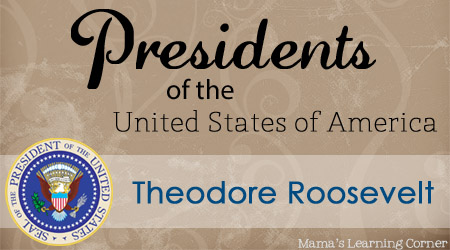 Theodore Roosevelt: Facts and Worksheets for 1st-3rd grades - Mama's Learning Corner