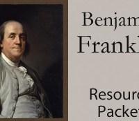 Benjamin Franklin Worksheet Packet
