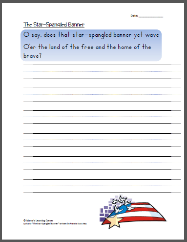 Patriotic And 4th Of July Worksheets And Printables