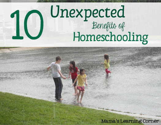 10 Unexpected Benefits of Homeschooling