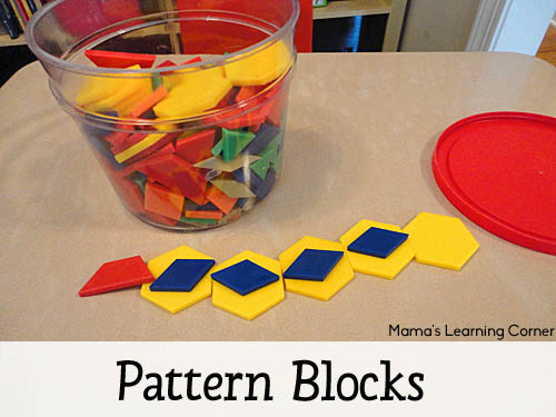 Pattern Blocks - Favorite Manipulatives for Young Learners