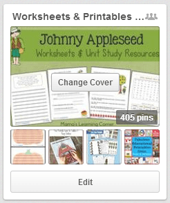 Worksheet and Printables for Pre-K to Second Grade Pinterest Board